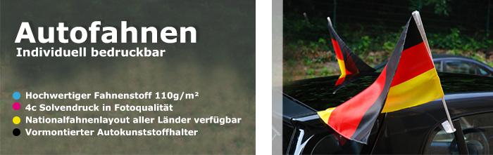 Autofahnen oder CarFlags